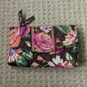NWOT Vera Bradley Floral Print Wallet
